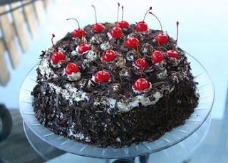 Resep dan Cara Membuat Kue Black Forest Cake