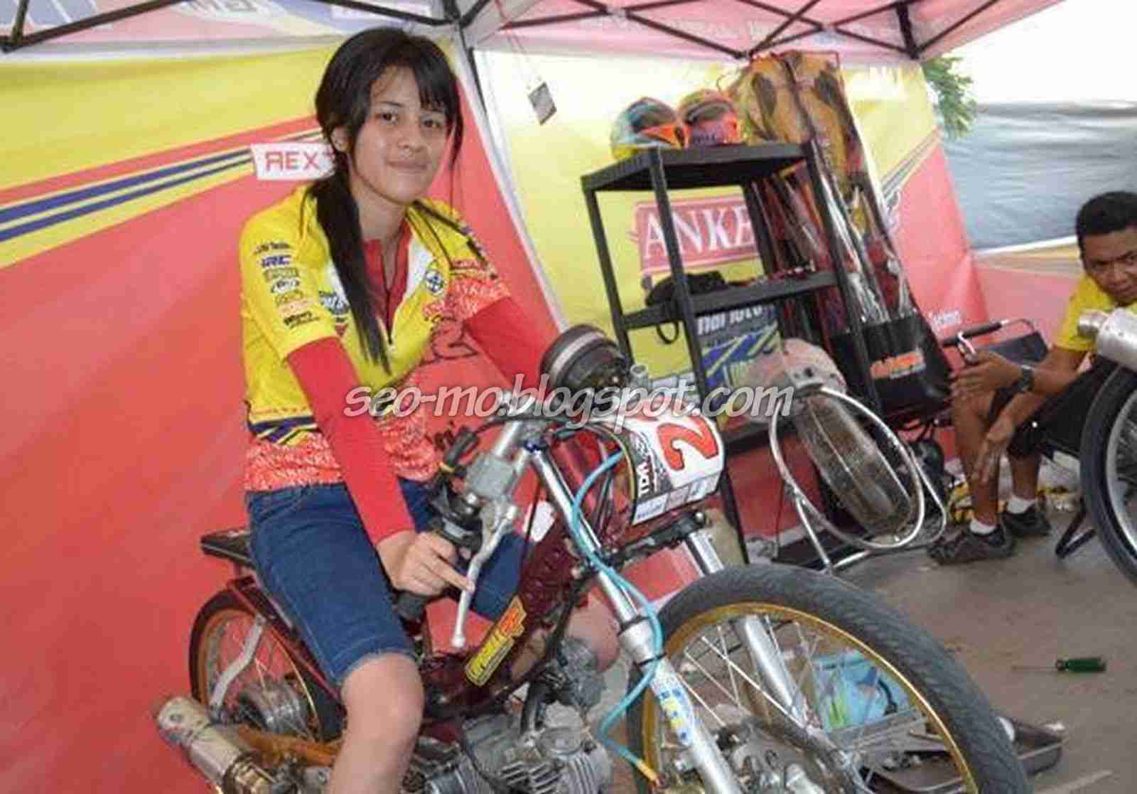 Kumpulan Gambar Motor Drag Wanita Terlengkap Kinyis Motor