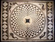 Mosaic in Baetulo