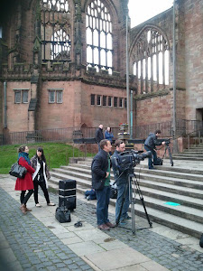 "Filming ""A Swift Change"" in Coventry"