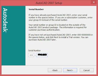 Install AutoCAD 2007 di Windows 8