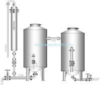 Hệ thống lọc nước giếng khoan kiểu lọc tiếp xúc