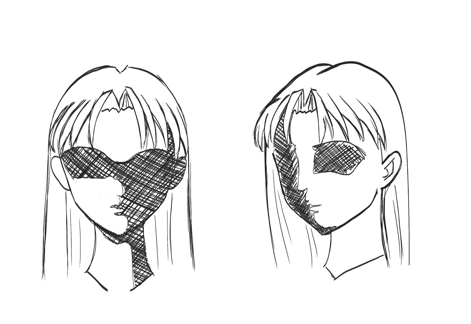 How To Draw Anime Hair Step 9
