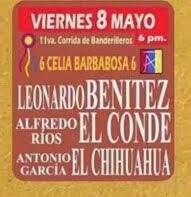 El Chihuahua, anunciado en Aguascalientes, el 08/05