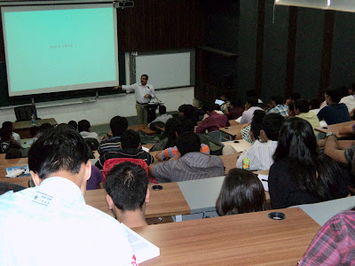 Mr.Mrinal Bhargav at Shanti Business School
