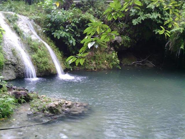 Air Terjun Desa Pamboqborang