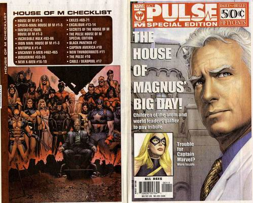 House of M The Pulse