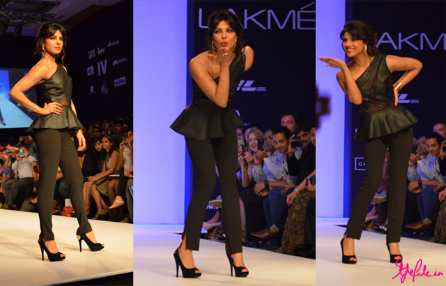 priyanka chopra bisou bisou lakme fashion week