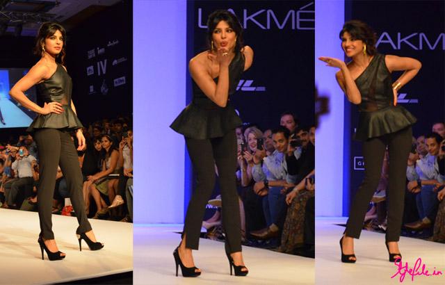 priyanka chopra bisou bisou lakme fashion week
