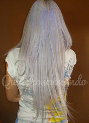 cabelo platinado