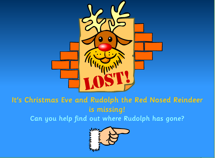 Rudolph is Missing! title=