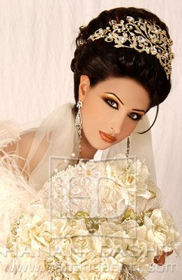 Makeup Styles on Arabic Bridal Makeup  A Care N Style