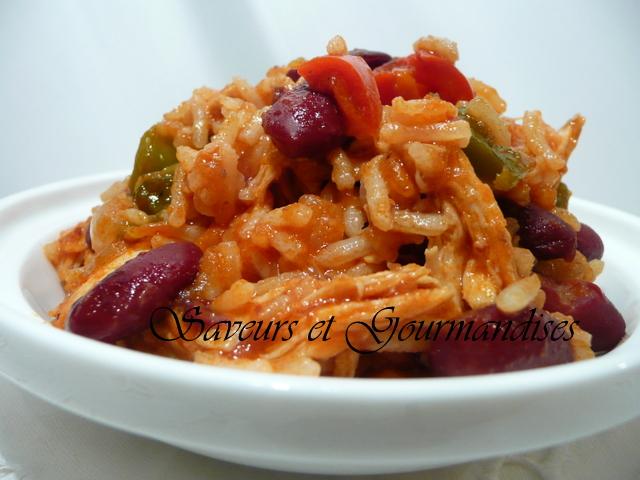 Chaise Cuisine En Solde : Riz au Poulet et Haricots Rouges  Blogs de cuisine