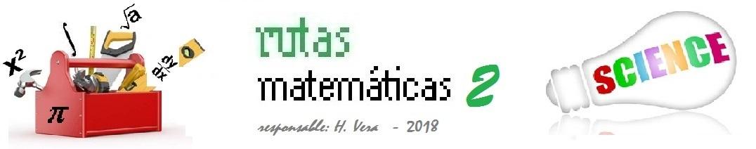 RUTAS MATEMÁTICAS 2