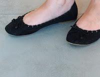 Scratch Laminatboden Ballerinas
