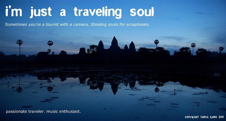 i'm just a traveling soul