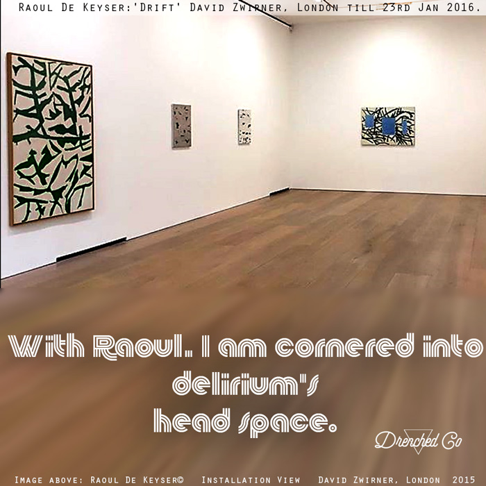 Image of David Zwirner, London with art exhibition review by Drenched Co.
