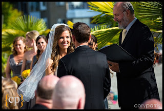 Kalani and Stephanie's wedding ceremony officiated by Kent Buttars, Seattle Wedding Officiant