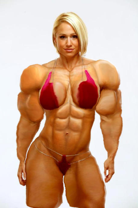 Date a female bodybuilder