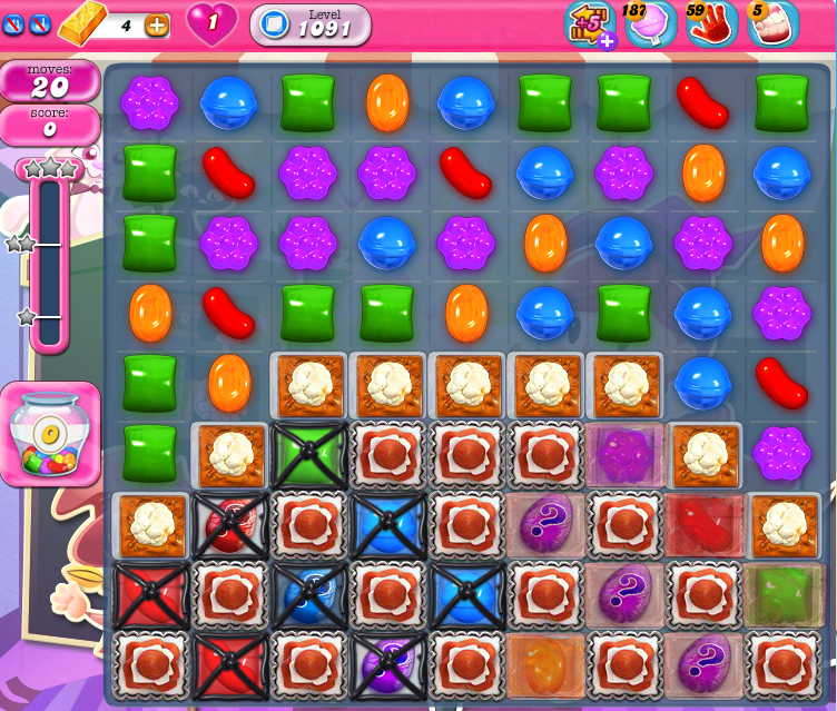 Candy Crush Saga 1091