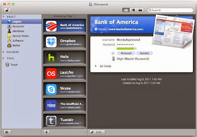 Agile Web Solutions 1Password 4.0.5 MacOSX