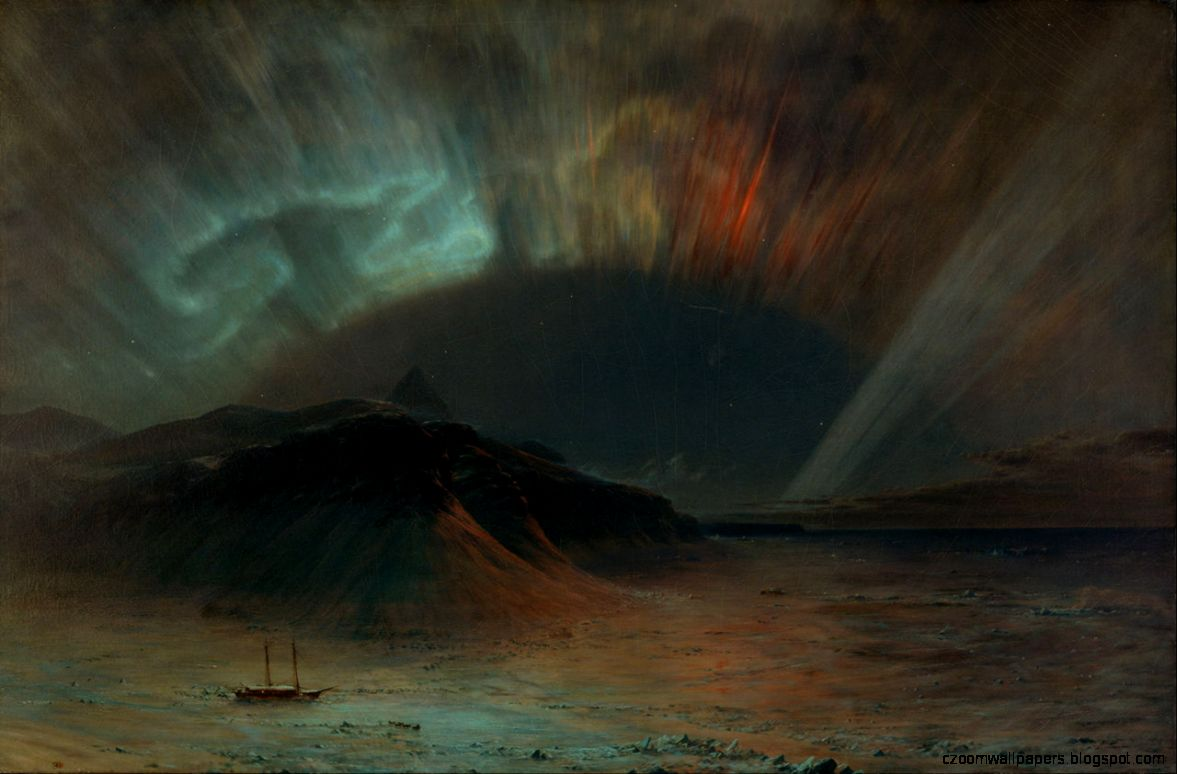 FileFrederic Edwin Church   Aurora Borealis   Google Art Project