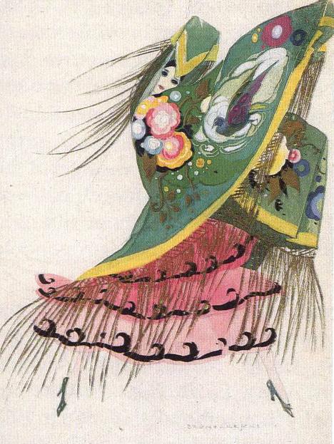 bruneslleschi illustration danse espagnole