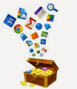 treasure trove chest of google tools