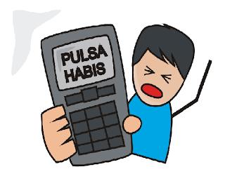 habis pulsa