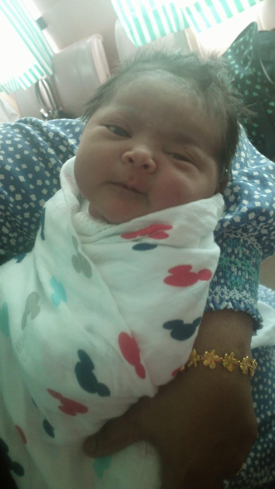 Adra Yukihana Newborn