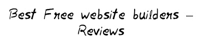 Best Free website Builders - Reviews Part II MohitChar