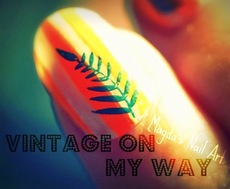 Vintage on my Way - Magda's Nail Art
