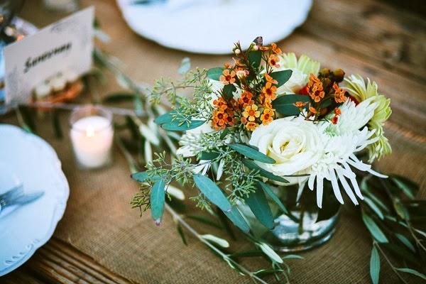 decorar mesa para boda chic
