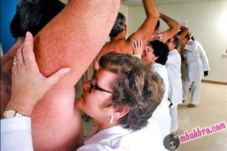 armpit sniffer