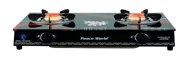 Bếp gas hồng ngoại Cao cấp Peace World