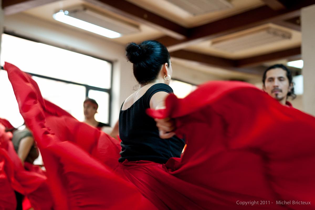 RED : Danzas Mexicanas, Centro Amor de Dios (Madrid)