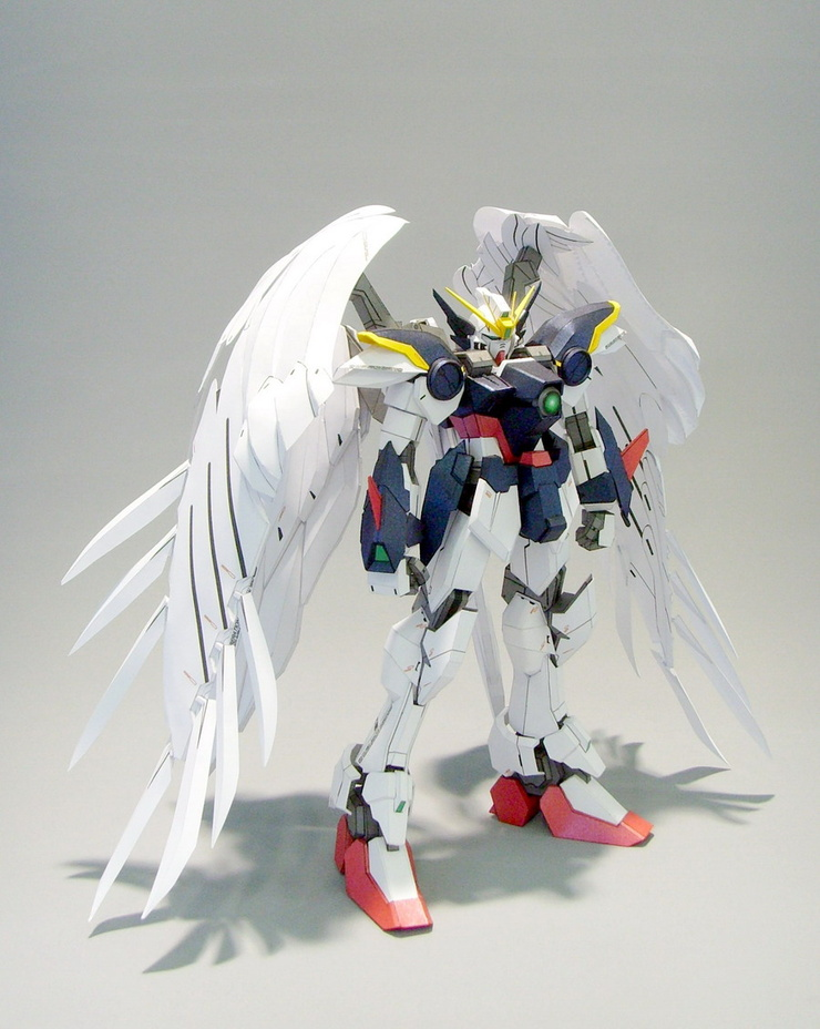 Bandai 1/100 Wing Gundam Zero EW Endless Waltz Hi Resolution Model Kit - Japan