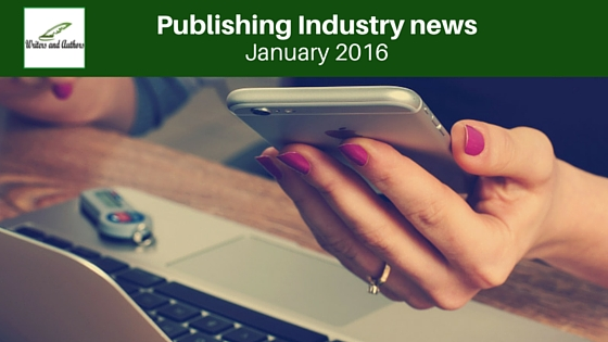 Publishing Industry News: January 2016