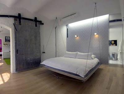 cama de casal suspensa