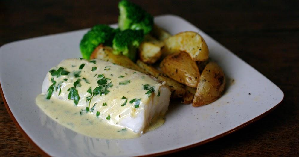 The wandering girl cabillaud sauce moutarde potatoes maison - Cuisiner des dos de cabillaud ...