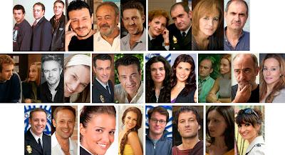 Tito Valverde, Marcial Álvarez, Elena Irureta, Joaquín Climent, Mar Regueras, Paula Echevarría