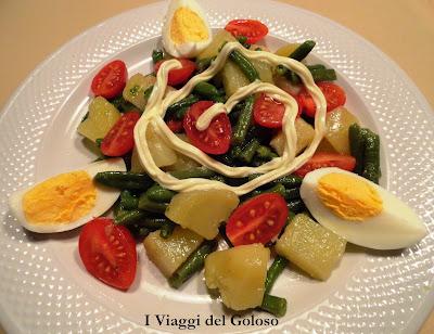 ricette estive ... insalata colorata ...