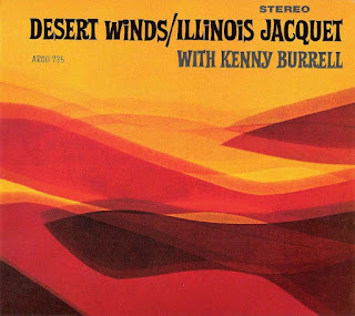 "Carátula ""Desert Winds"" (Illinois Jacquet, 1964)"