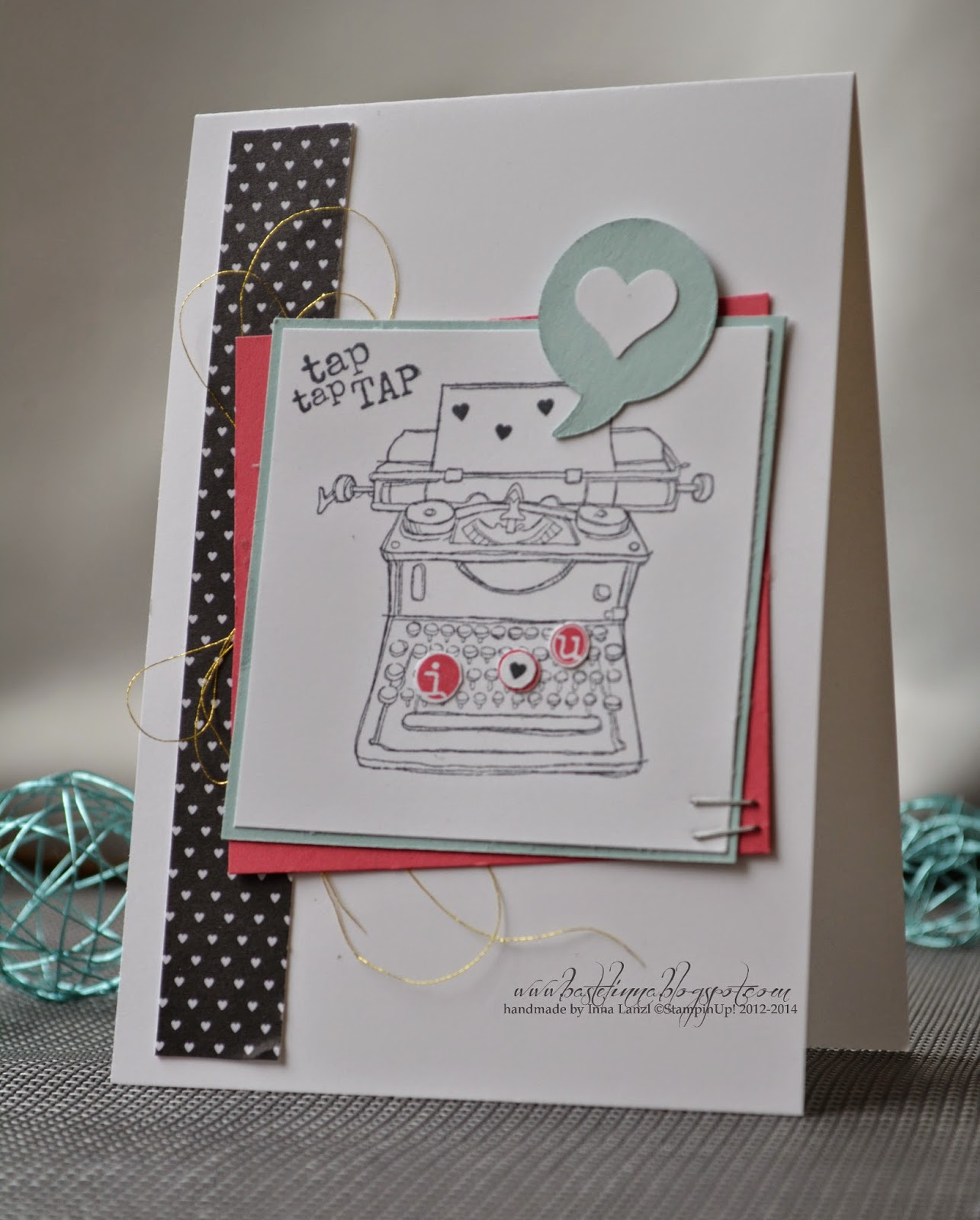 Stampin Up  + Valentinstag + Tap Tap Tap
