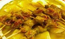 Resep Masakan khas sate padang