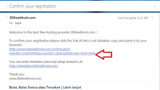 contoh pesan email