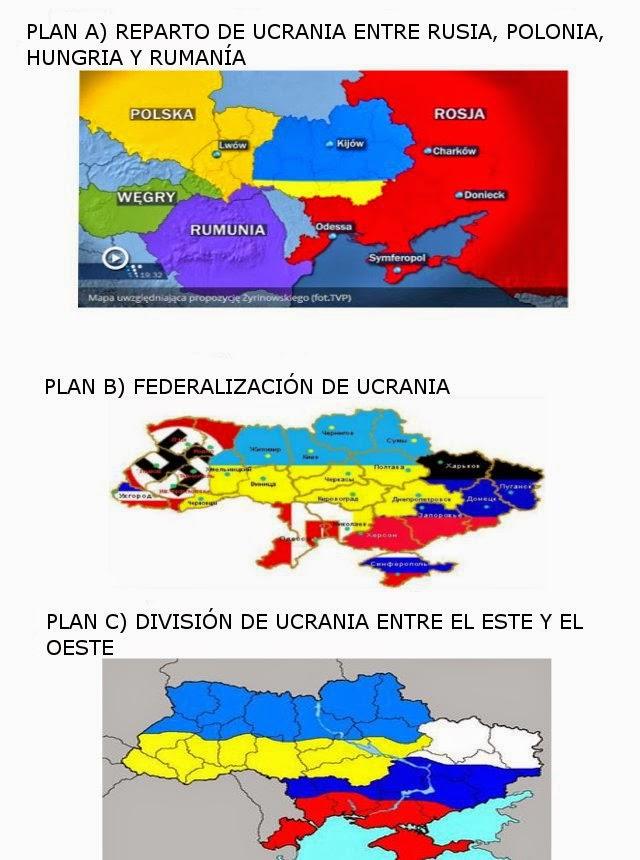 Planes de reorganización territorial de Ucrania:
