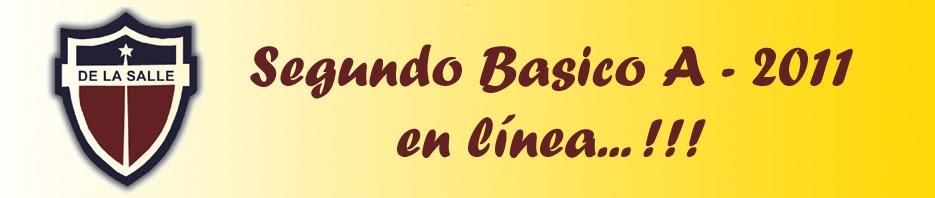 Segundo Básico A 2011