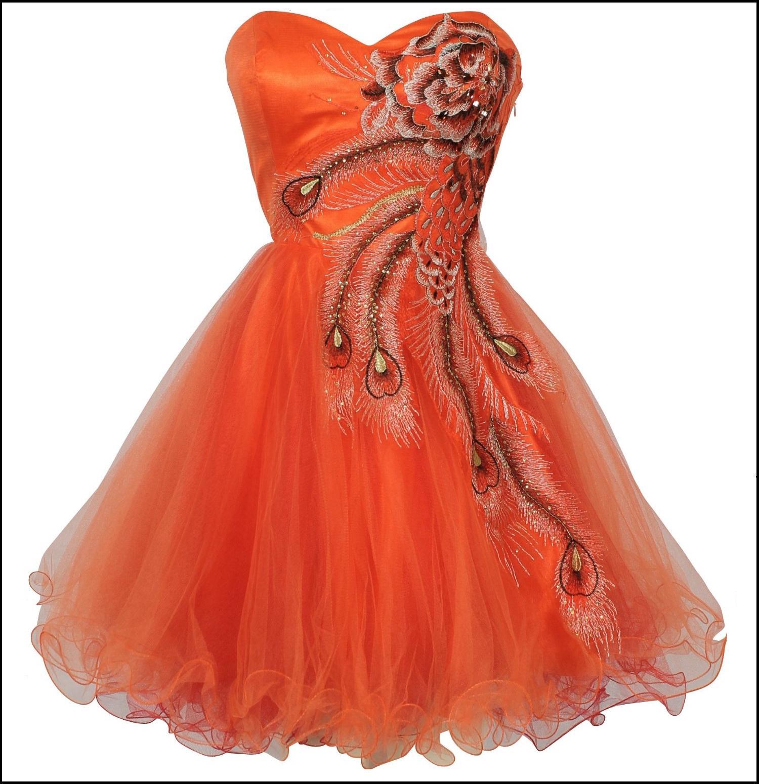 Light Orange Color Dress Color orange sold out
