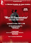 Jeunes Socialistes bruxellois en action...Micro vs Discrimination